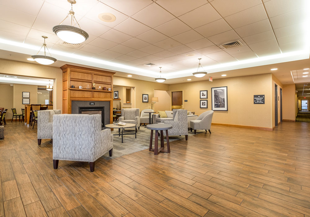Hampton Inn Waterville Lobby
