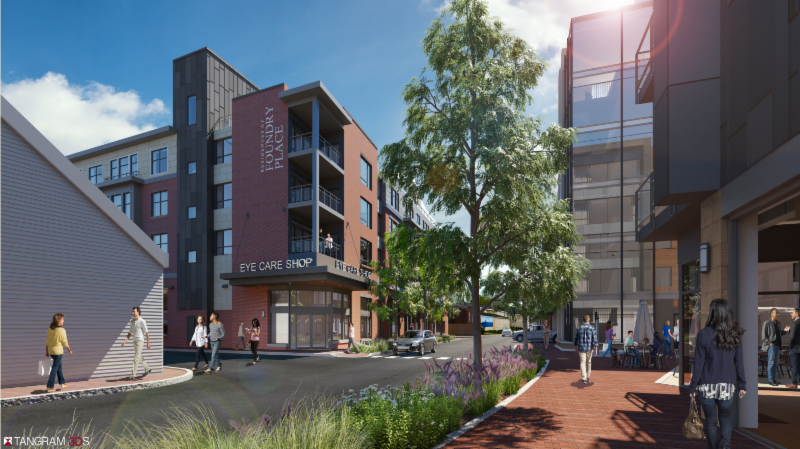 Approval sought for Building #6 in Deer Street Associates project