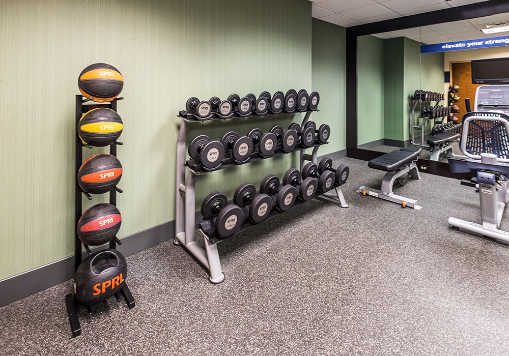 Hampton Inn Waterville Gym